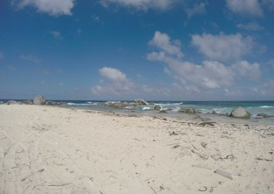 Beach in Northern Aruba