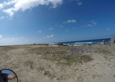 Northern beach of Aruba