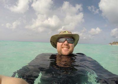 Danan Coleman in Aruba