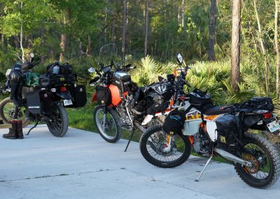 The Three Motorcycles