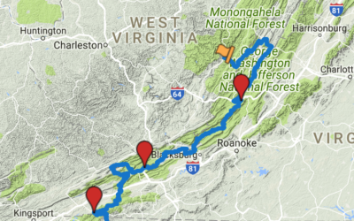 Trans America Trail 04 – Virginia to North Carolina