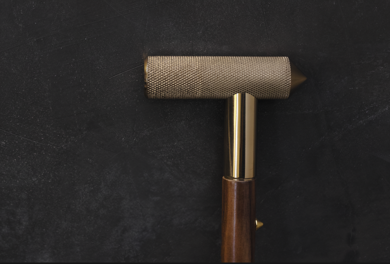 Close up of T-Cane by david/nicolas, image courtesy of Joy Mardini Design Gallery