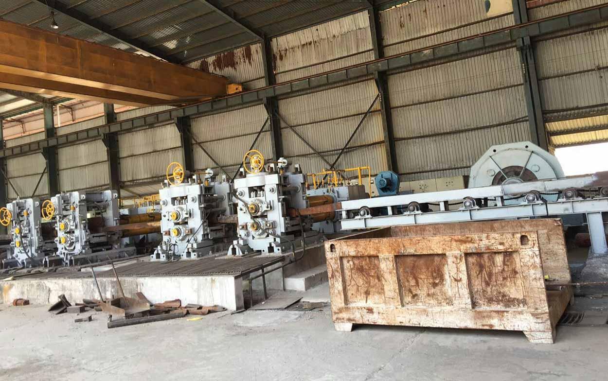 rebar rolling mill unit