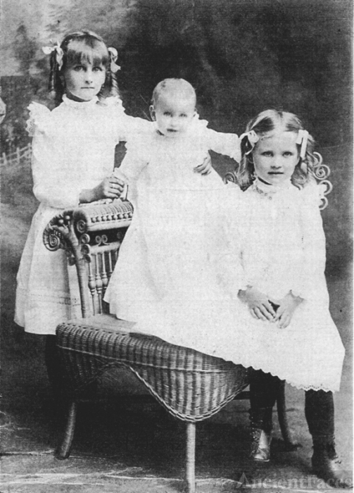Eva,Viola & Gelana Brickley 1900