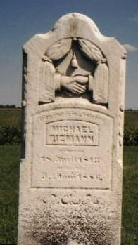 Headstone of Michael Riemann