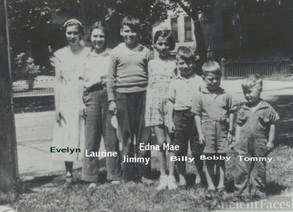 Ramage kids, WI circa 1939