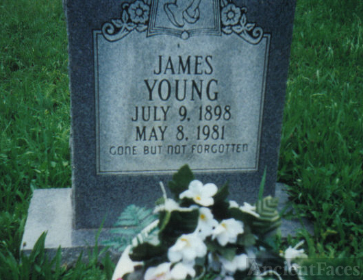Headstone of James Young