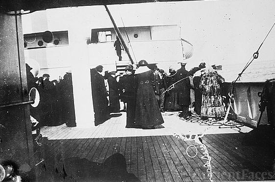 Titanic Survivors - rescued