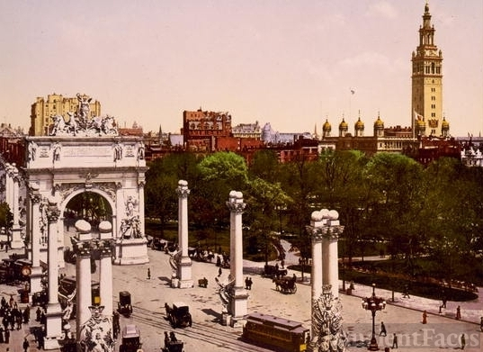 The Naval Arch at Madison Square, New York City