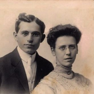 Wedding - John Abner Snell and Grace Birkett