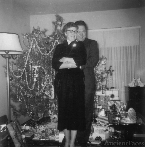 1956 Mrs. Betty Jo Dickison and William C. Holmes Jr.