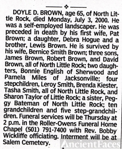 Doyle Brown Obit