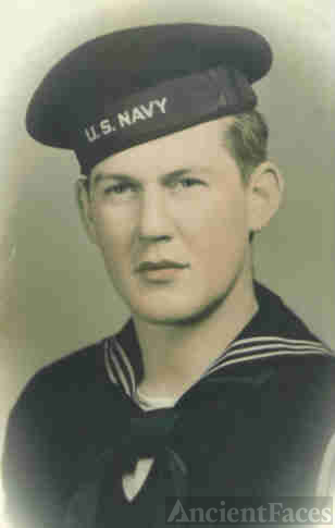 Jack H. Cain in the Navy