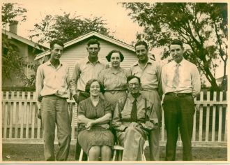 William & Nettie Miller Family