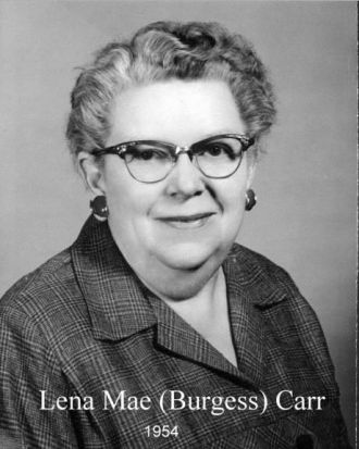 A photo of Lena Carr