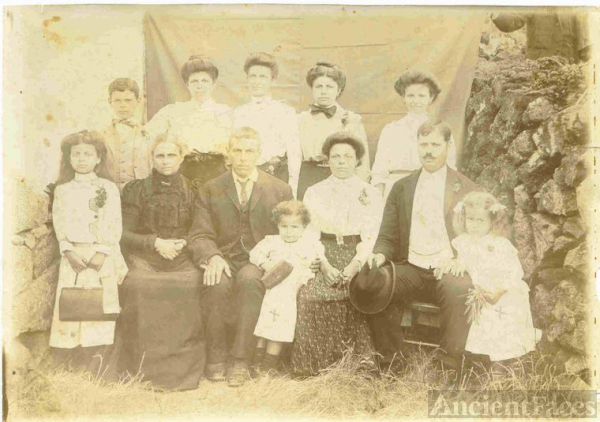 Relatives from Sao Joao Pico Azores