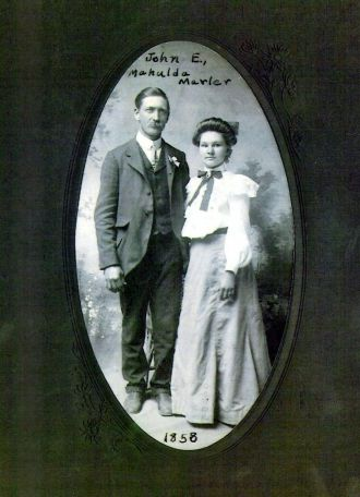 A photo of Dr. John Earl Marler & Mahulda White