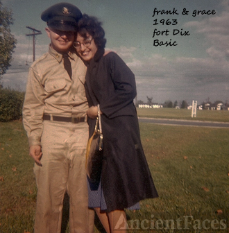 Frank&Grace at Fort Dix