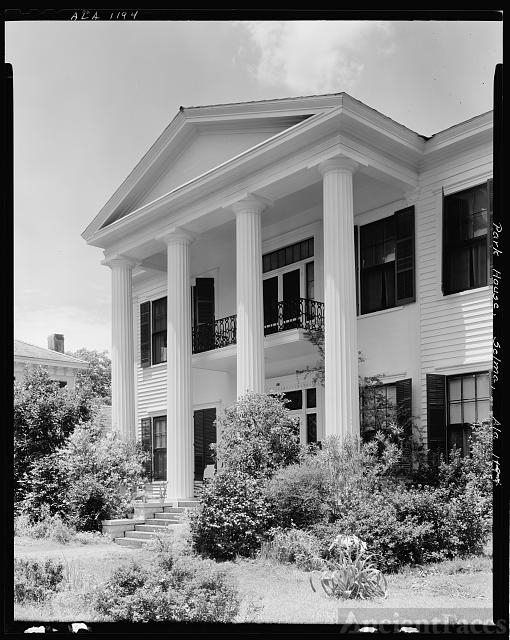 Park House, Selma St., Selma, Dallas County, Alabama