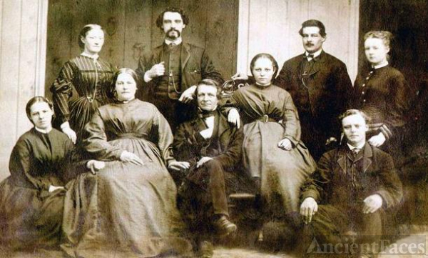 William Kiser family Bedford PA Dec. 1868