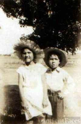 Alice and Lawrence Patchin as children