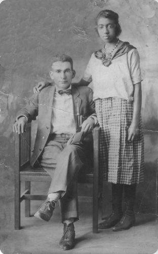 Mr. and Mrs Nicholson, 1923