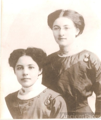 Laura and Maude Martin