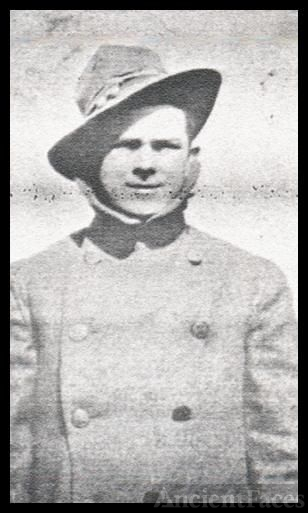 Jacob Franklin (Jake) Cleveland, WWI