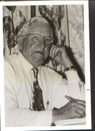 A photo of Claude C Cochran