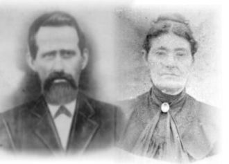 John H. Herd & wife, Lucy Blackburn Herd