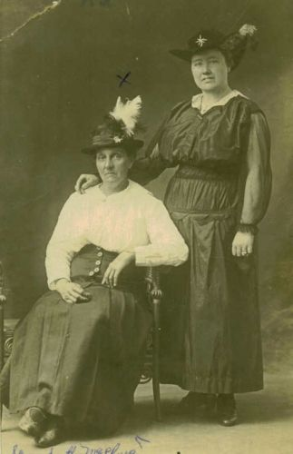 Mary Elizabeth Davis McClurg and Maggie Burton