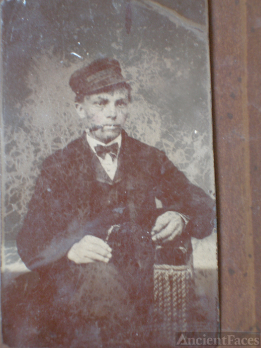 Unknown man, tintype
