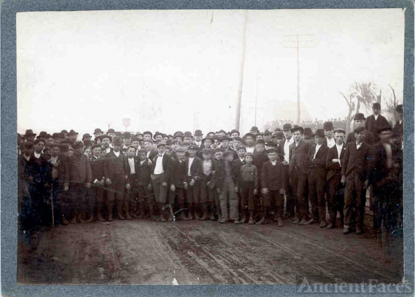 United Mine Workers of America Anthracite Coal Strike of 1902 in Scranton, Pennsylvania