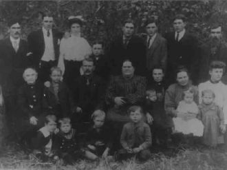 Mary Tunnell with Gallion Family