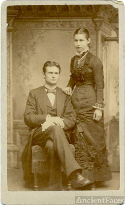 Couple-Probably Wedding Photograph