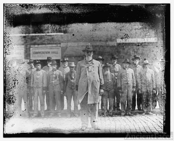 Confederate veteran reunion, 1917