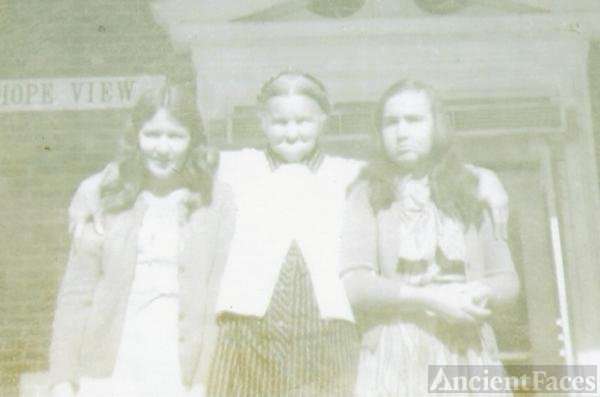 My Grandmother Griffin and 2 of my aunts