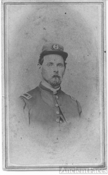 Jasper Sprague Snow, Civil War photo