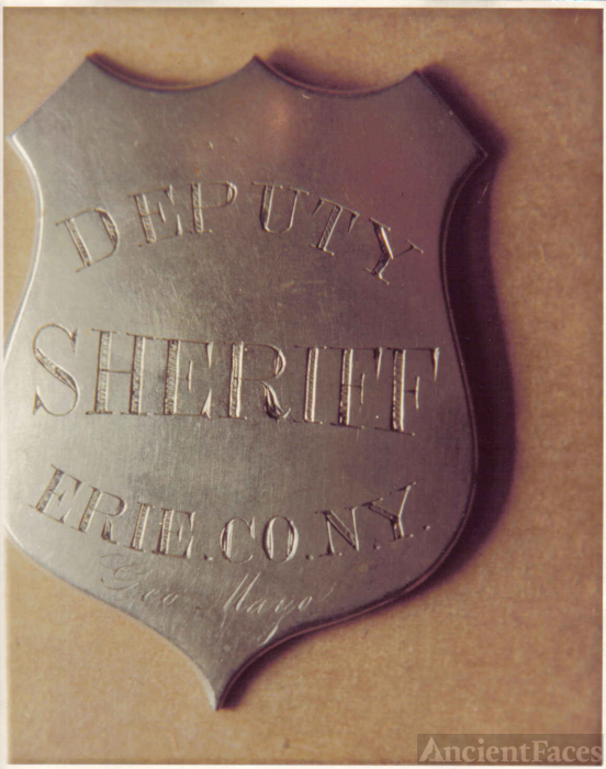 Badge, Deputy Sheriff, Erie County NY
