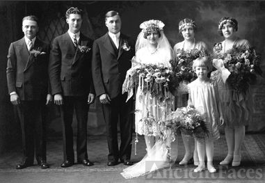 Dick & Kirscht Wedding, 1927 Minnesota