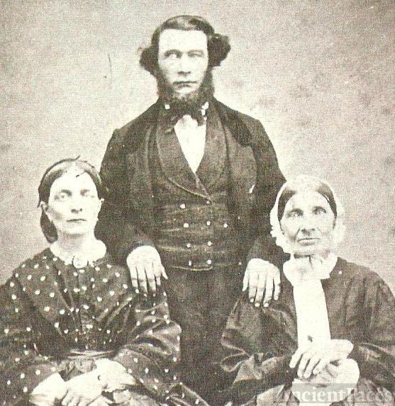 Joseph Regnier Sr, Anna Coutot and Mrs MArsh