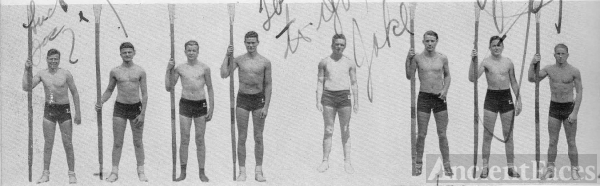 Jack Brigham and 1933 Crew Team