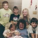 Nancy Pfunder & Grandchildren, Florida 1996