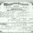 Henry J. Siebert & Pearl Baugh Wedding Cert.