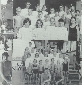 1962 Long Beach Yacht Club Swim Team