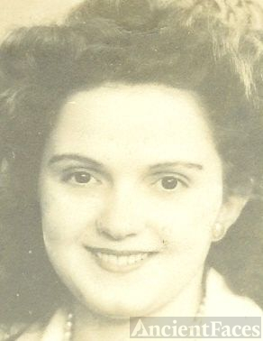 Lucille Marie Dyer -age 16 - face only