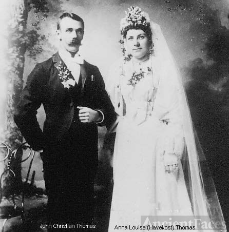 John & Anna Louise Thomas, Nebraska