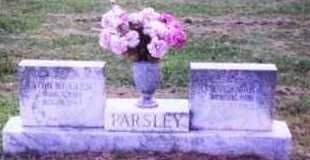 Robert and Daisy Parsley Headstone, AR