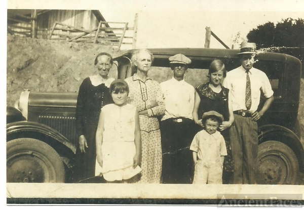 Short family & friends, Tennessee  1930