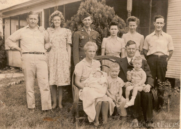 Calvin and Thelma Abbott's Children